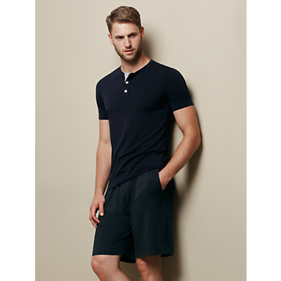 Derek Rose London Marlowe Modal Lounge Shorts, Grey