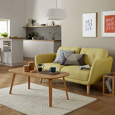 Buy House By John Lewis Arlo Small 2 Seater Sofa Light