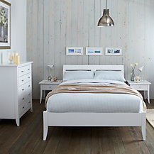 John Lewis Aspen Bedroom Furniture, White