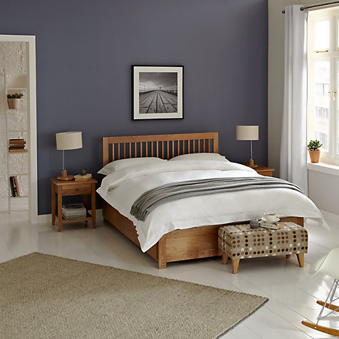 Buy John Lewis Camden Storage Bed, Oak, Double Online at johnlewis.com