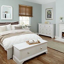 Buy John Lewis Downton Bedroom Furniture, White Online at johnlewis.com