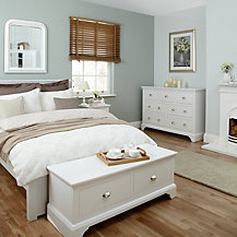 John Lewis Downton Bedroom Furniture, White