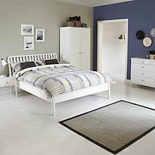 Buy House by John Lewis Maine Bedroom Furniture Range, White Online at johnlewis.com