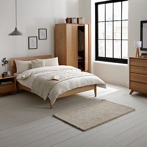 Buy House by John Lewis Stride Bedstead, Oak, Kingsize Online at johnlewis.com