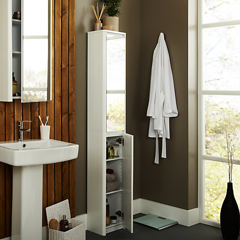 Buy John Lewis Gloss Curve Bathroom Furniture Range Online at johnlewis.com