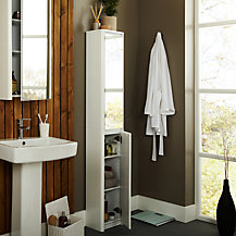 John Lewis Gloss Curve Bathroom Furniture Range