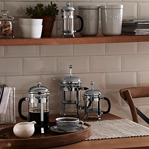 Buy John Lewis Classic French Press Coffee Makers Online at johnlewis.com