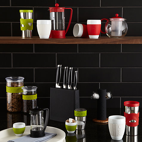 Buy Bodum Assam Tea Press, Red Online at johnlewis.com