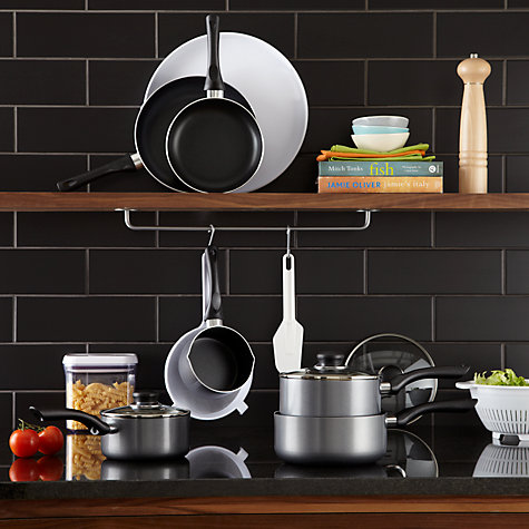 Buy John Lewis The Basics Aluminium Frypans Online at johnlewis.com