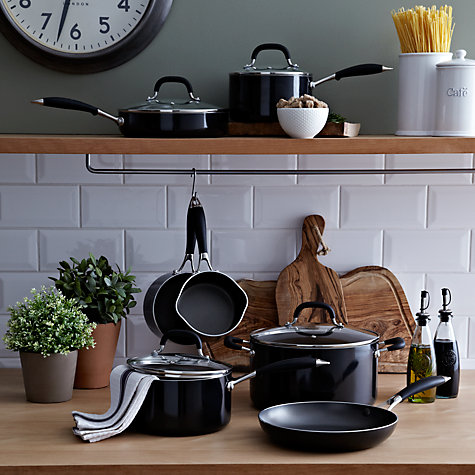 "Buy John Lewis ""The Pan"" Frypan and Lid, 24cm Online at johnlewis.com"