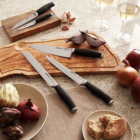 Buy Anolon Advanced Santoku Knife, SureGrip, L18cm Online at johnlewis.com