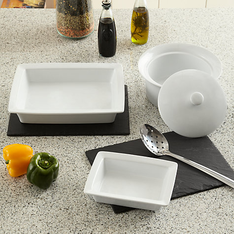Buy John Lewis The Basics Rectangle Dish Online at johnlewis.com