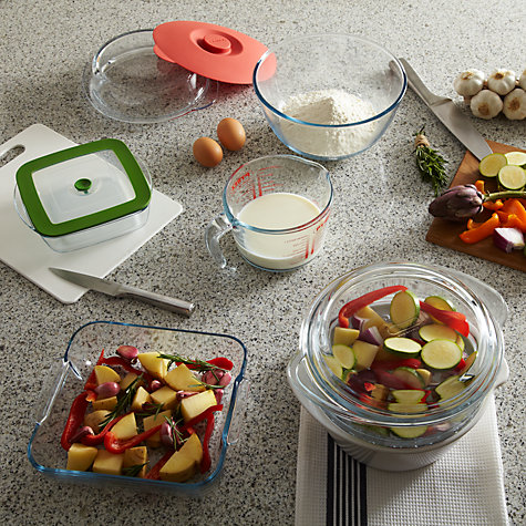 Buy Pyrex 5 Piece Multi Cook Set, White Online at johnlewis.com