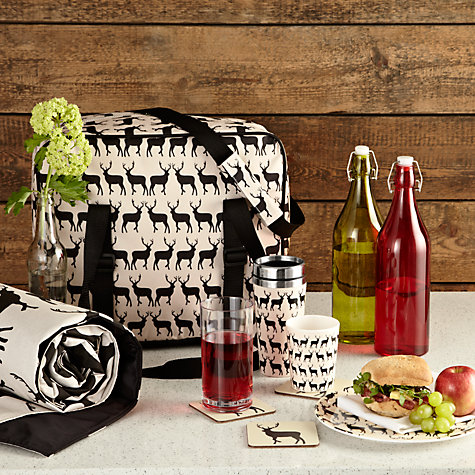 Buy Anorak Kissing Stags Picnic Rug, L145cm Online at johnlewis.com