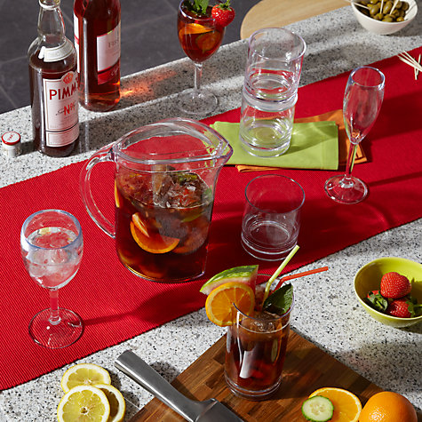Buy John Lewis Acrylic Wine Glasses, Large, Set of 4 Online at johnlewis.com