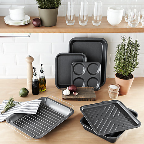 Buy John Lewis Professional Nonstick Crisper, L32cm Online at johnlewis.com
