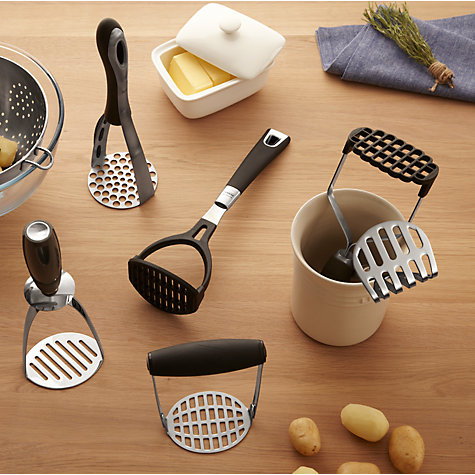 Buy John Lewis Stainless Steel Potato Masher Online at johnlewis.com