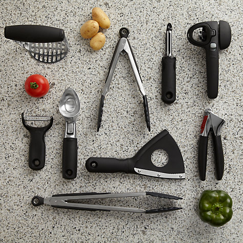 Buy OXO Good Grips Locking Tongs, L30cm Online at johnlewis.com