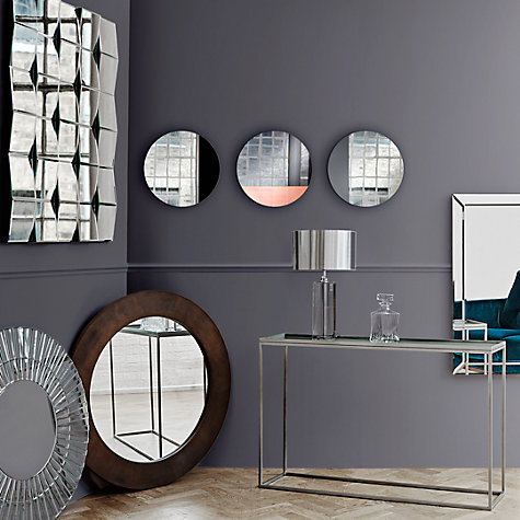 Buy john lewis smoke engraved mirror 90 x 60cm john lewis for Mirror 90 x 60