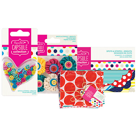 Buy Docrafts Papermania Spots & Stripes Range Online at johnlewis.com