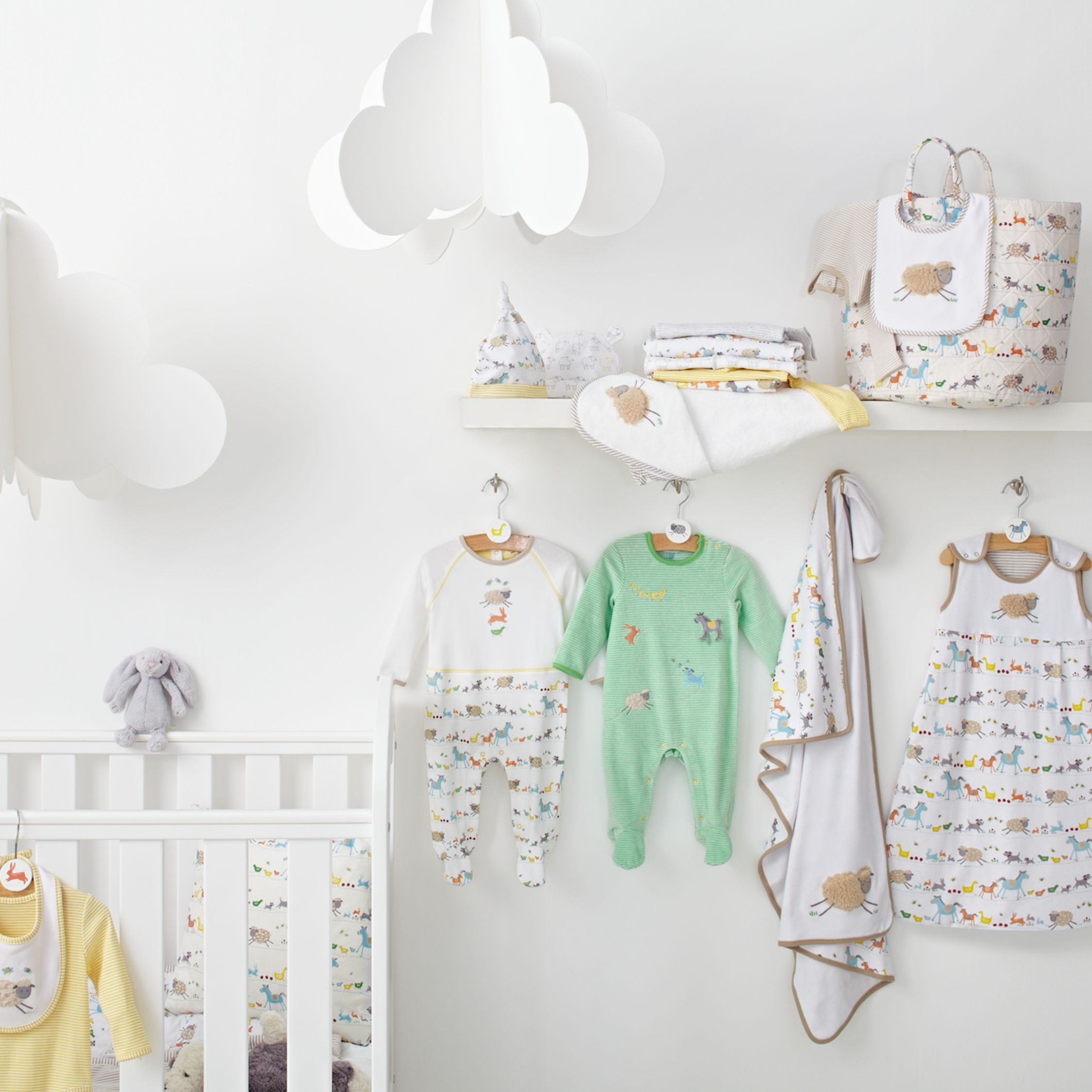Farmyard Babywear & Nursery Co-ordinated Ranges