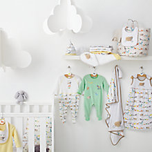 Buy John Lewis Farmyard Babywear & Nursery Collection Online at johnlewis.com