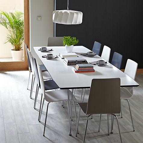 Buy house by john lewis lia 10 seater extending dining for 10 seater dinning table