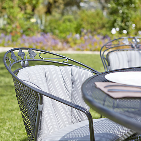 Buy John Lewis Henley by KETTLER Round Back Garden Armchair Online at johnlewis.com