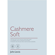 Buy John Lewis Cashmere Soft Bedding Online at johnlewis.com