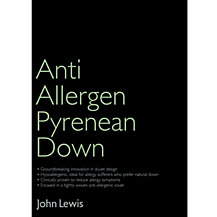 John Lewis Anti Allergen Pyrenean Down Bedding