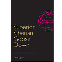 Buy John Lewis Superior Siberian Goose Down Bedding Online at johnlewis.com