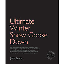 John Lewis Ultimate Winter Snow Goose Down Bedding