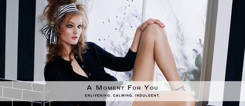 A moment for you. Enlivening, calming, indulgent