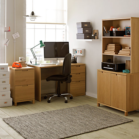 Buy John Lewis Abacus Large Filing Cabinet Online at johnlewis.com
