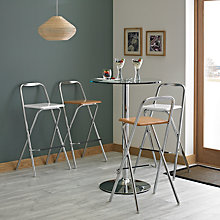 Buy John Lewis Verona Folding Bar Chairs Online at johnlewis.com