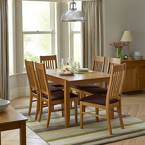 Buy John Lewis Ellis 6 Seater Extending Dining Table Online at johnlewis.com