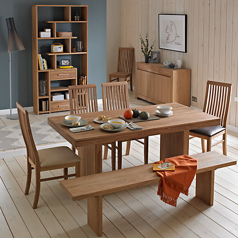 Buy John Lewis Henry Dining Chair, Wood Seat | John Lewis