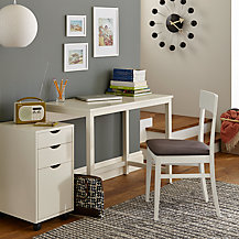 John Lewis Loft Office Furniture, White