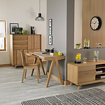 Bethan Gray for John Lewis Noah Dining Room Furniture, Oak