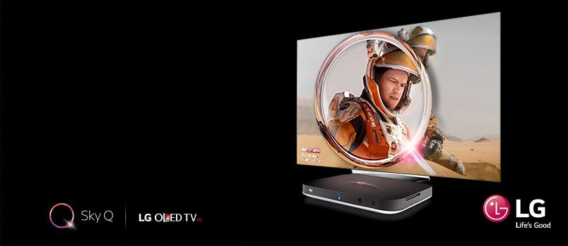 Enjoy Sky Q subscription with LG