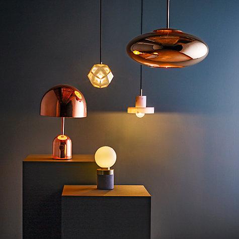 buy tom dixon bell table lamp john lewis. Black Bedroom Furniture Sets. Home Design Ideas