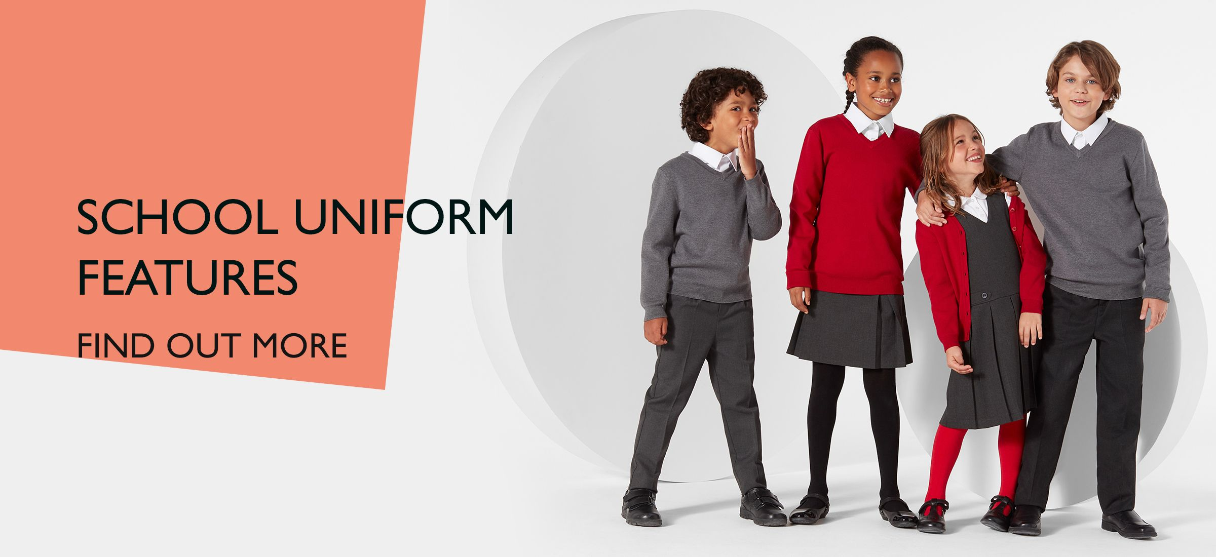 SCHOOL UNIFORM FEATURES