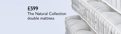 The Natural Collection 4000 cotton pocket spring double mattress