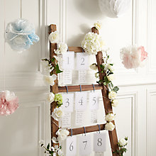 Buy How to make a ladder table plan Online at johnlewis.com