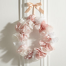 Buy How to make a doiley celebration wreath Online at johnlewis.com