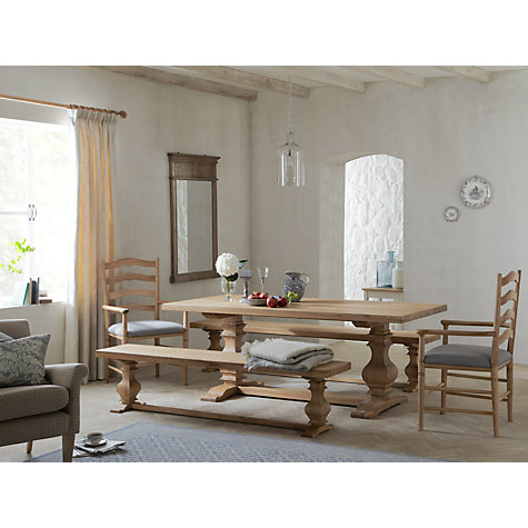 Buy Frank Hudson Refectory 6-Seater Dining Table Online at johnlewis.com