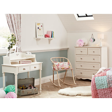 Buy little home at John Lewis Victoria Dressing Table and Top, Ivory Online at johnlewis.com