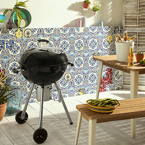 Buy John Lewis Deluxe Kettle Charcoal Barbecue, Dia.47cm Online at johnlewis.com