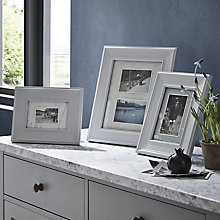 Buy John Lewis Croft Photo Frame Range, White Online at johnlewis.com