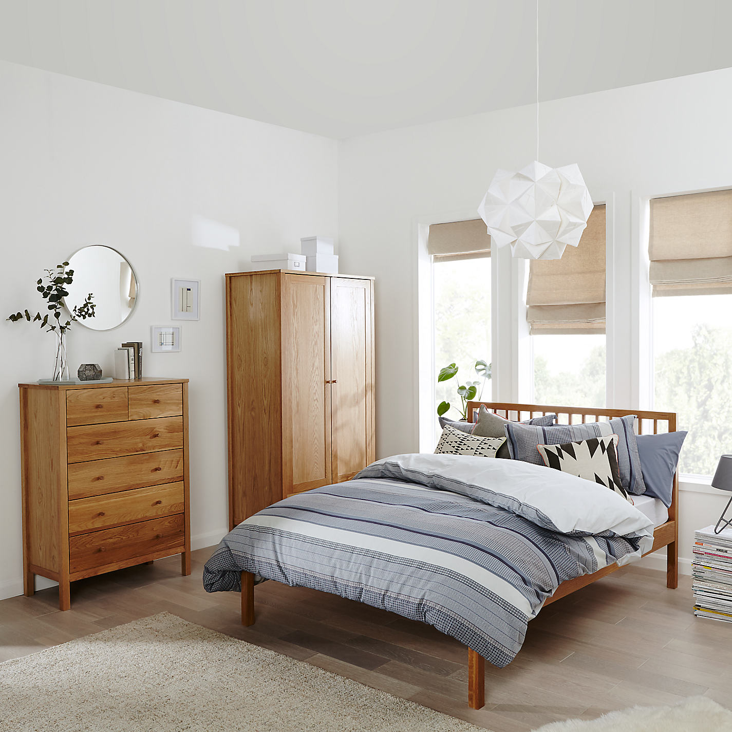 Bedroom Ideas John Lewis interesting bedroom ideas john lewis eames white rocking chair